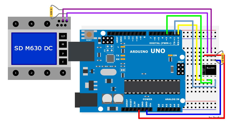 rs485 modbus platine arduino - Arduino Beispiele